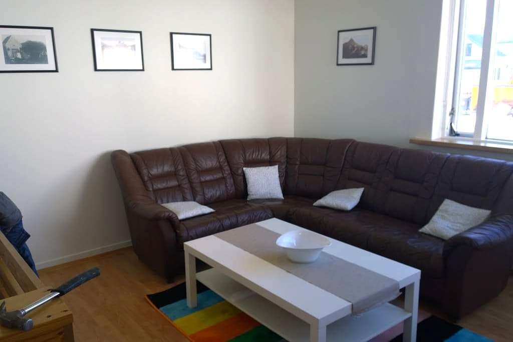 Budget apartment with ocean view - Ísafjörður - Apartament
