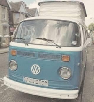 'Henry' a 1974 Type VW campervan