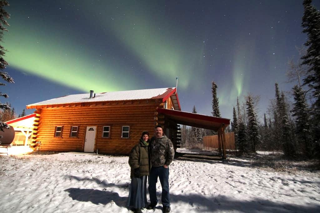 Alaska Aurora Adventures Cabin A - North Pole - Gîte nature