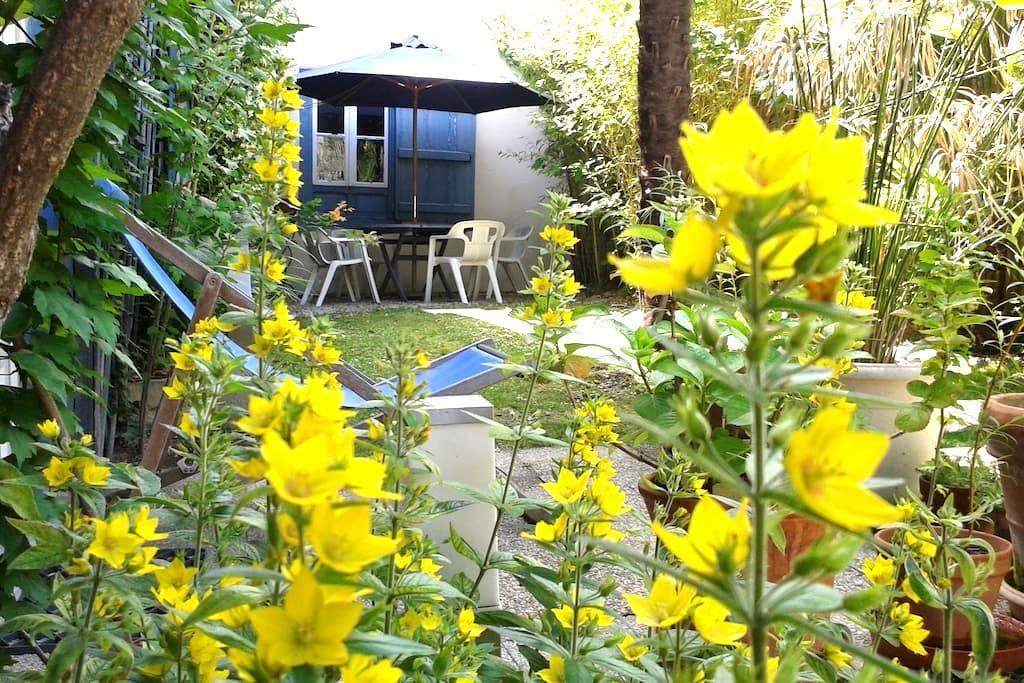 Studio avec jardin centre ville - Bagnères-de-Bigorre - Rumah