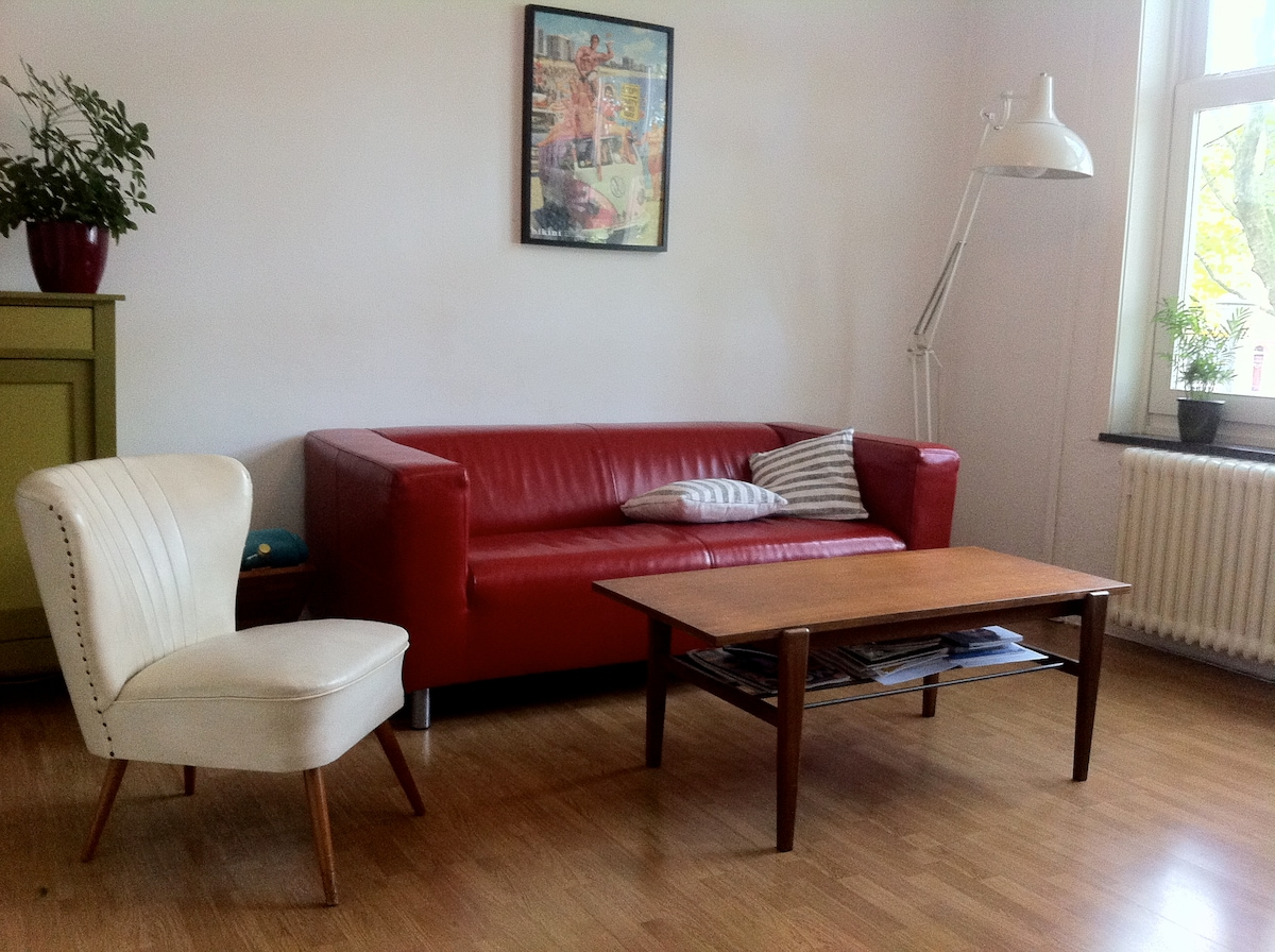 Cosy apartment, Amsterdam West