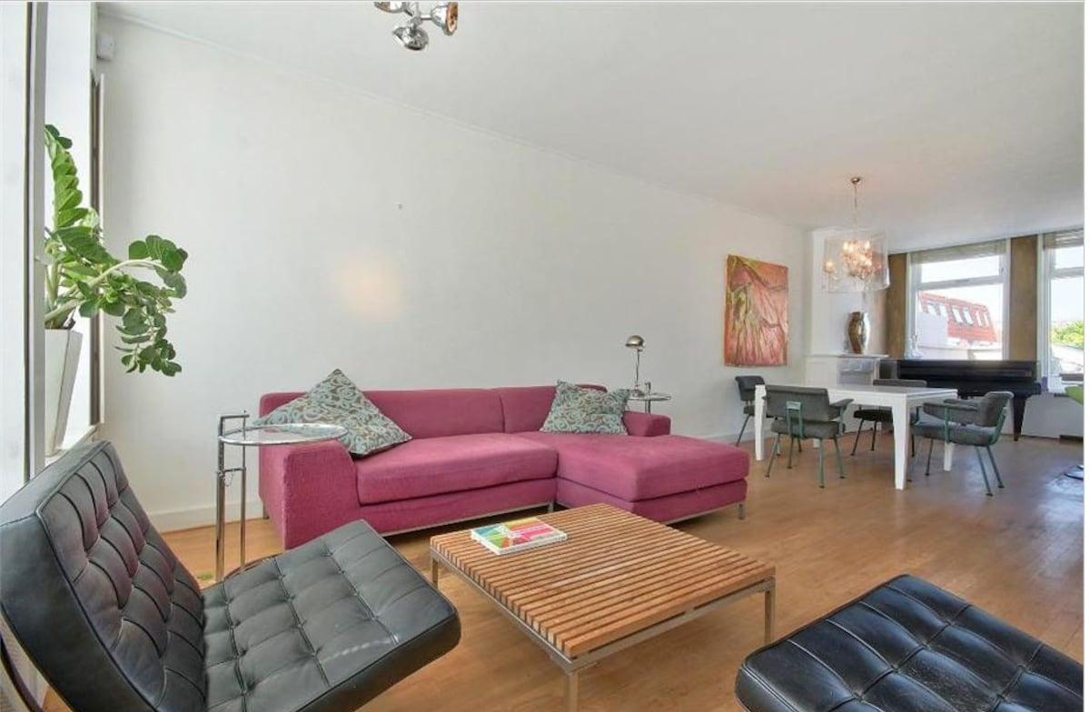 Spacious, stylish apartment