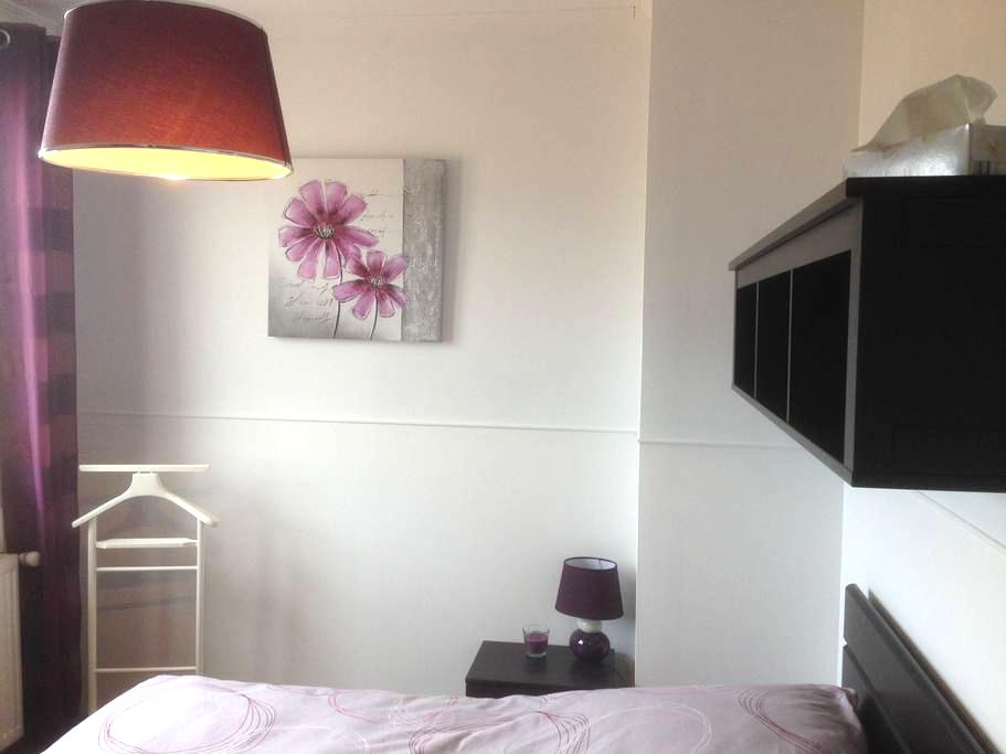 Chambre prune in Beaujolais - Cercié - Bed & Breakfast
