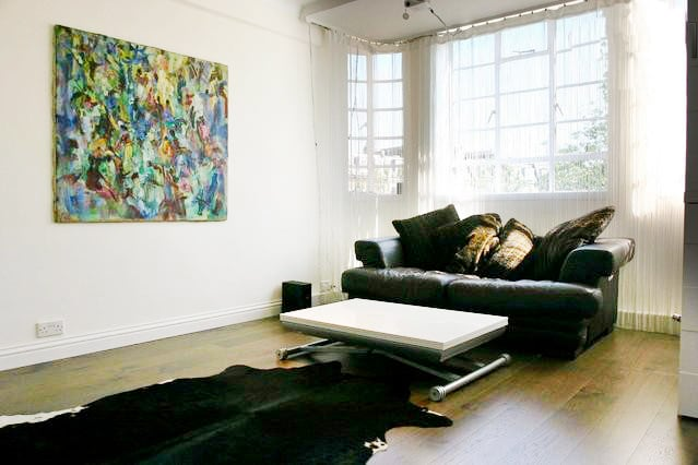 Stylish central London 2-bed flat