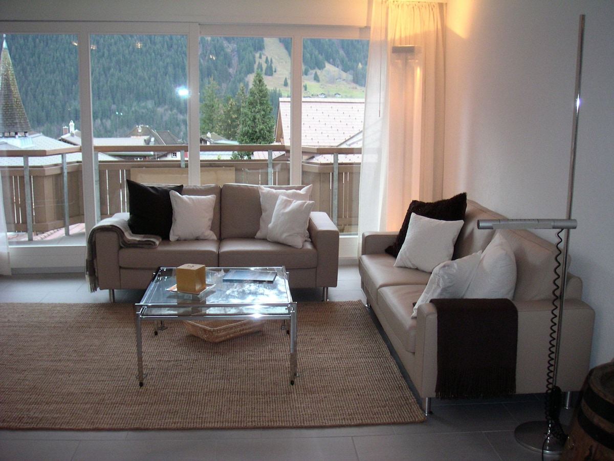 2 bedrooms in the center of village