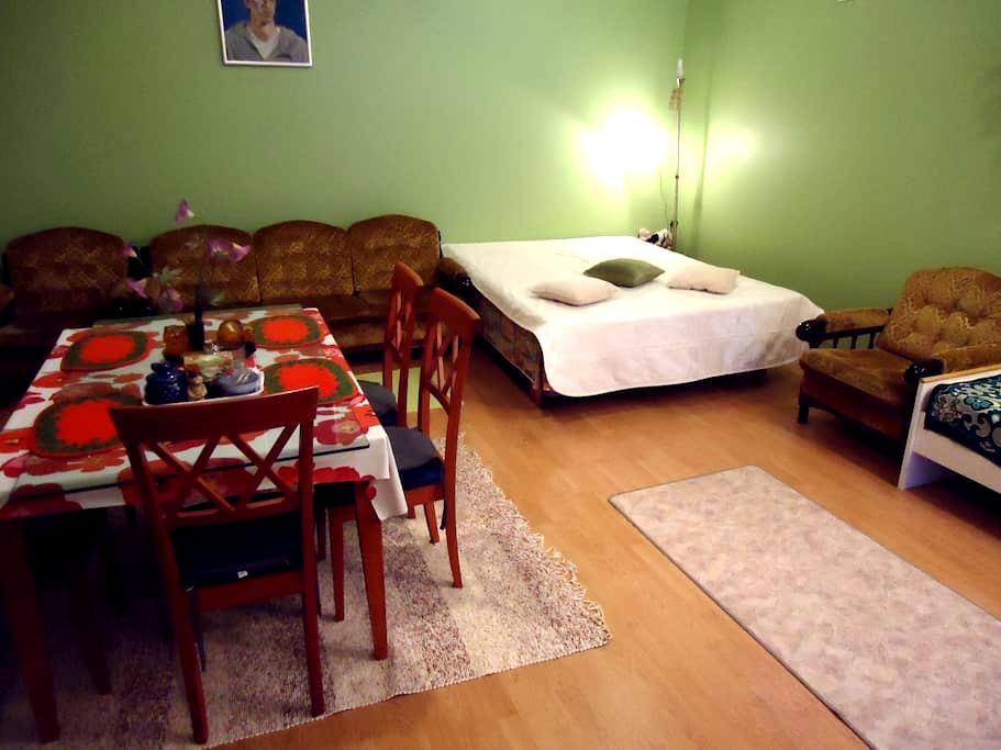 аренда студии 40кв для 3(4)человек - Kotka - บ้าน