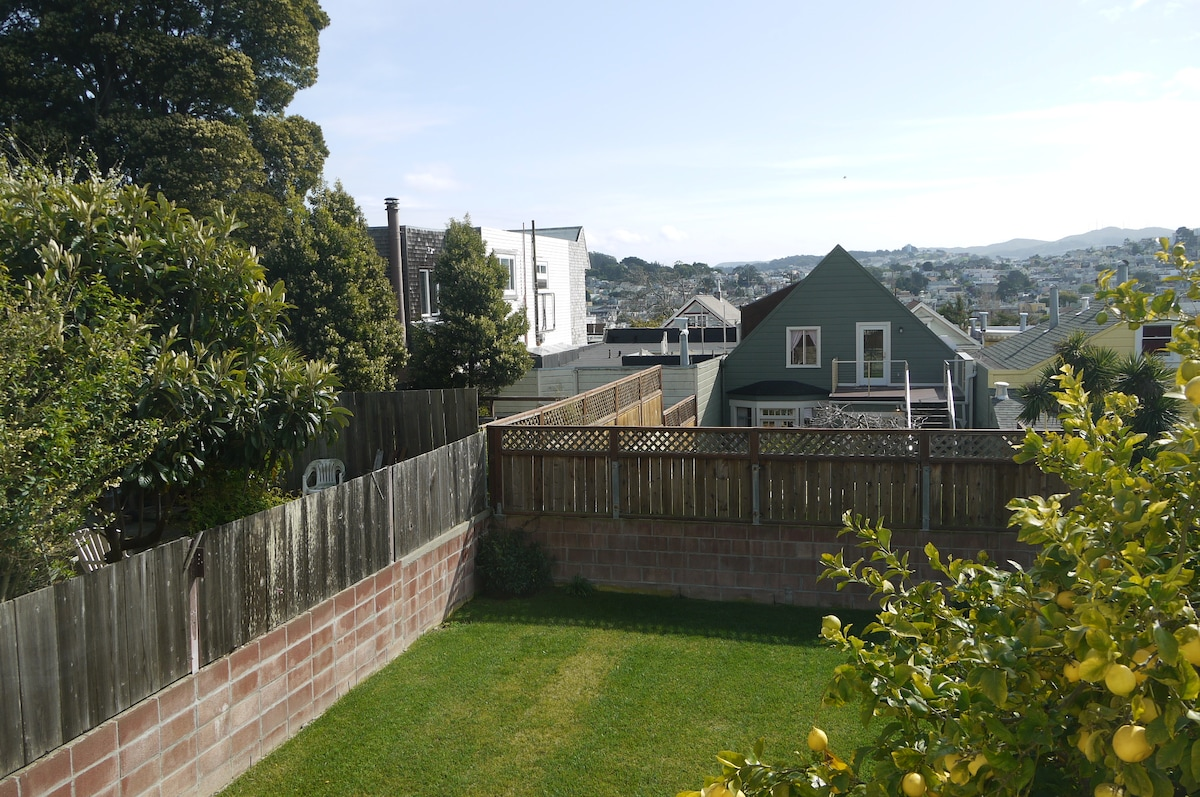 Noe Valley family home with views !