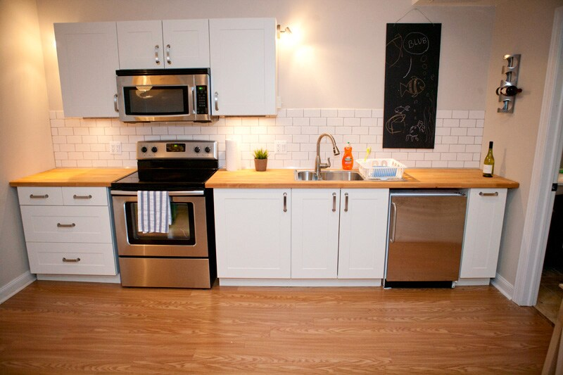 Sunny basement apartment