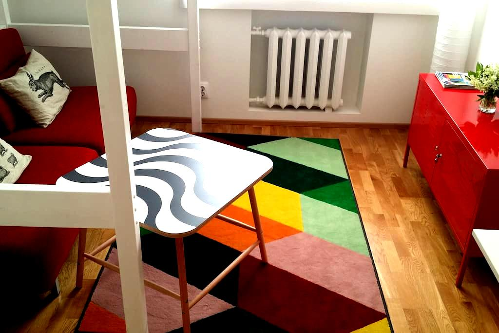 Sunny studio near Old Town and Sea - Tallinn