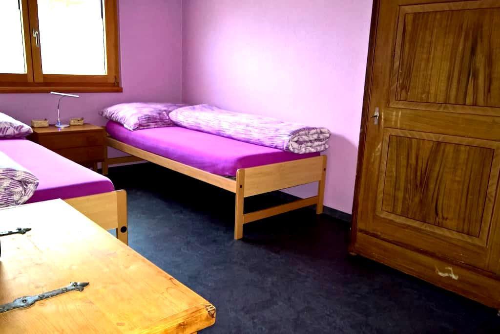Zimmer in Turtmann - Turtmann - Apartment
