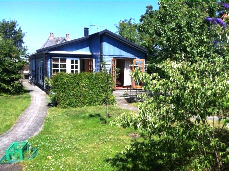 Cozy garden house, w/ free bikes - Copenhagen - Rumah