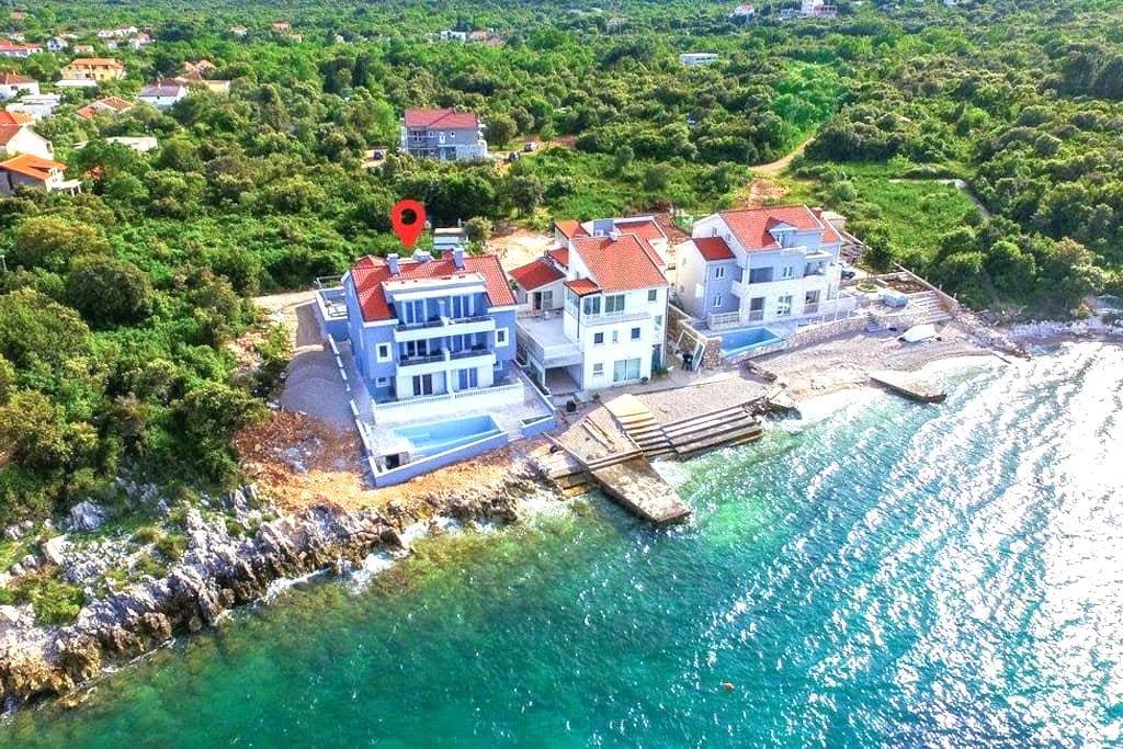 Villa Poseidon; seaside apartments - Sreser - Wohnung