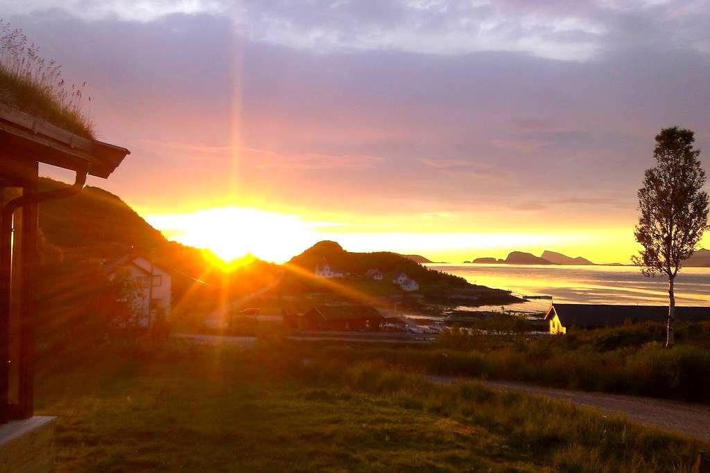 Laukvik Senja - Laukvik på Senja i Lenvik kommune Troms fylke, Nord-Norge - 小木屋