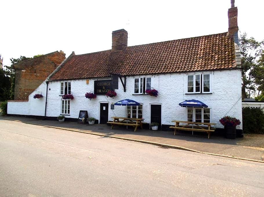 The George & Dragon Public house - West Dereham - Appartement