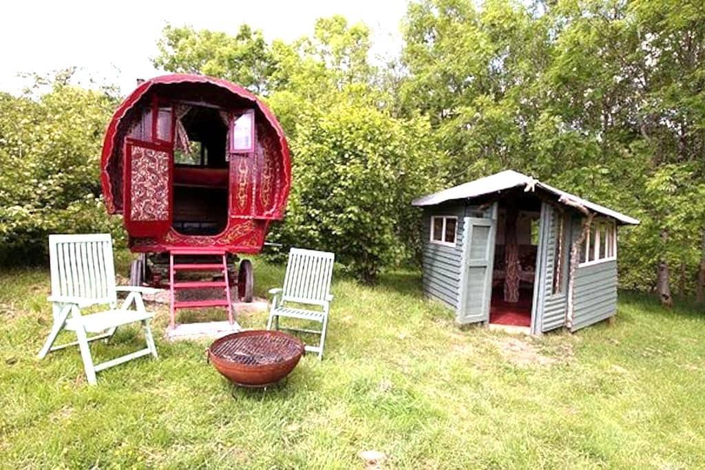 Gypsy caravan, Nr Dartmoor - Northlew - Annat