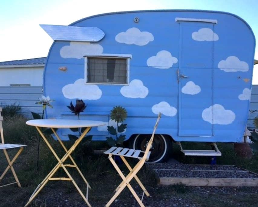 Summer's End Mini Trailer - Marfa - Camper/RV