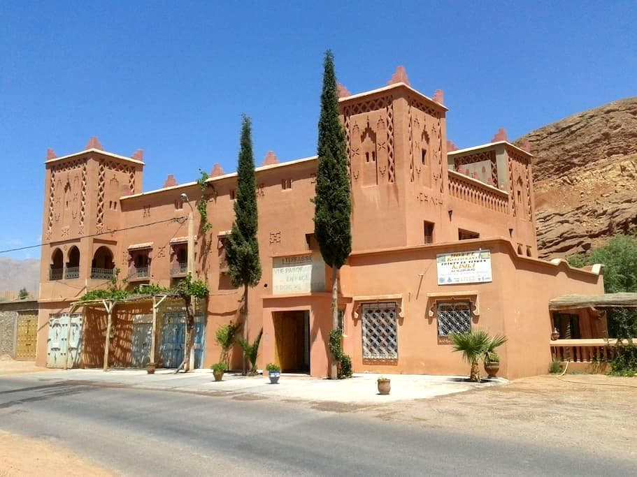 Auberge Kasbah Ait Marghad - Boumalne Dades - Rumah
