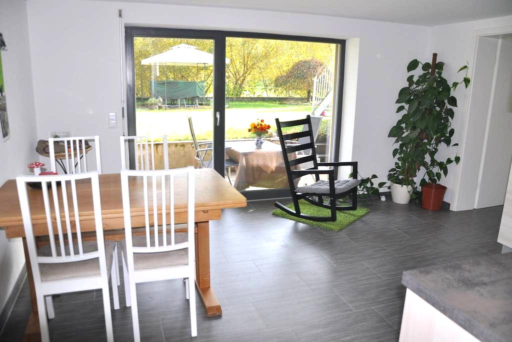 Gemütliche Ferienwohnung im Grünen - Lauchringen - Apartamento