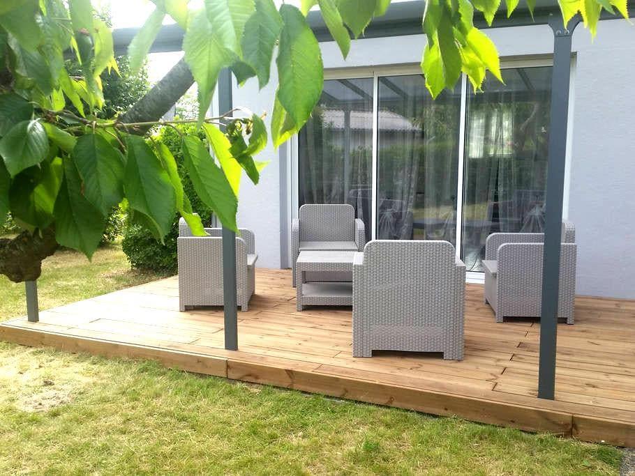 Maison 80m² & jardin 500m² à Angers - Les Ponts-de-Cé - Hus