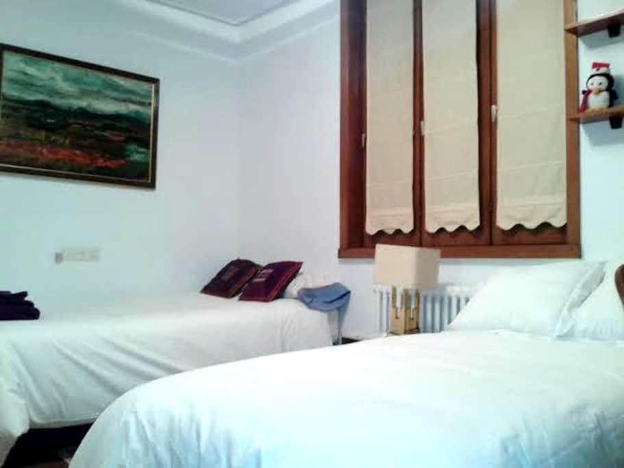 Ubicacion Perfecta-Dos camas-baño   L-SS-00002 - Donostia - Hus