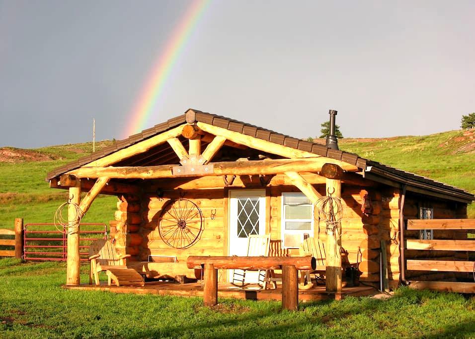 Horse Lovers Black Hills Bunkhouse - Hot Springs - Cabin