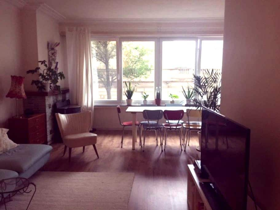 Bright and spacious appart. near trendy hotspots - Antwerp - Apartamento