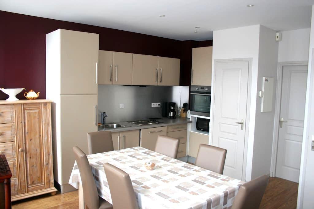 Gîte Prairie (55M2)  Bergues centre - Bergues - Apartment