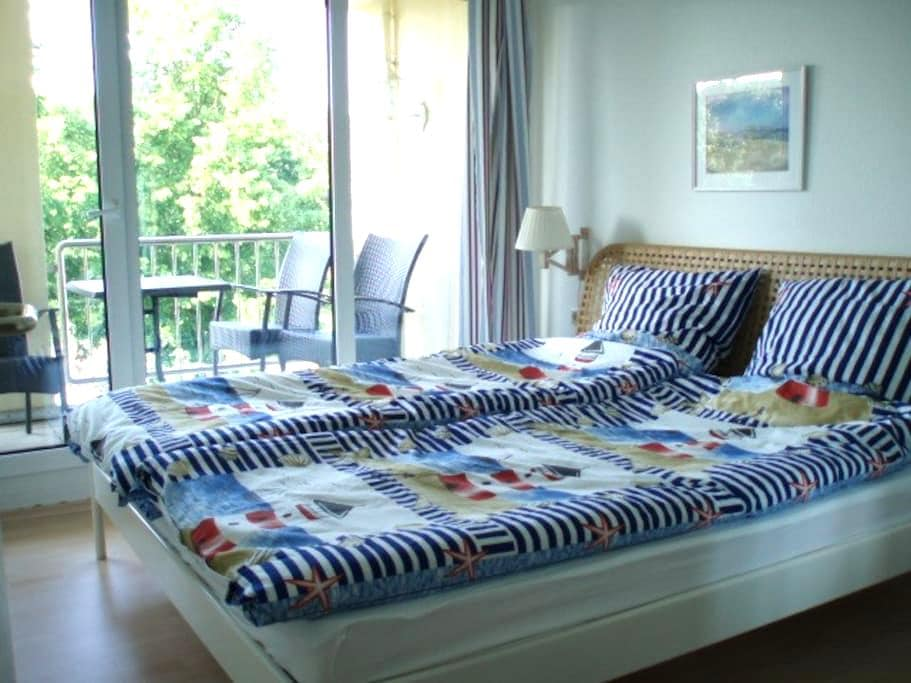 Sonnig, zentral und ruhig in Sellin - Sellin - Lägenhet