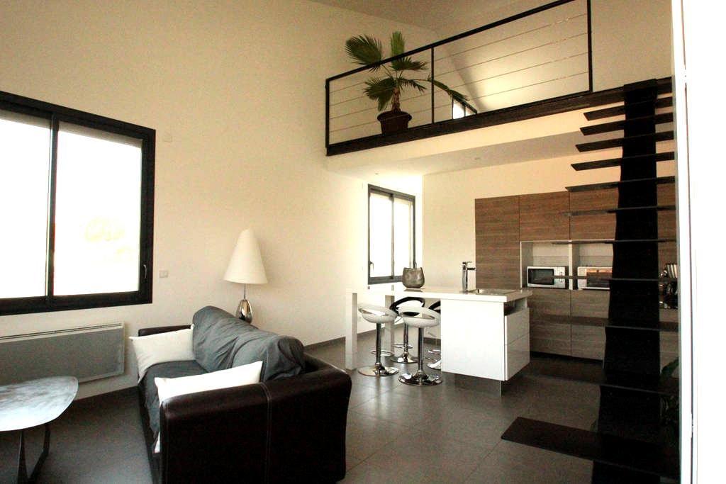 Loft 50m² proche centre historique - Pézenas - Apartemen
