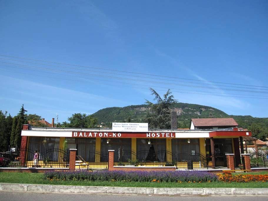 RETRO supermarket changed to hostel - Badacsonytomaj