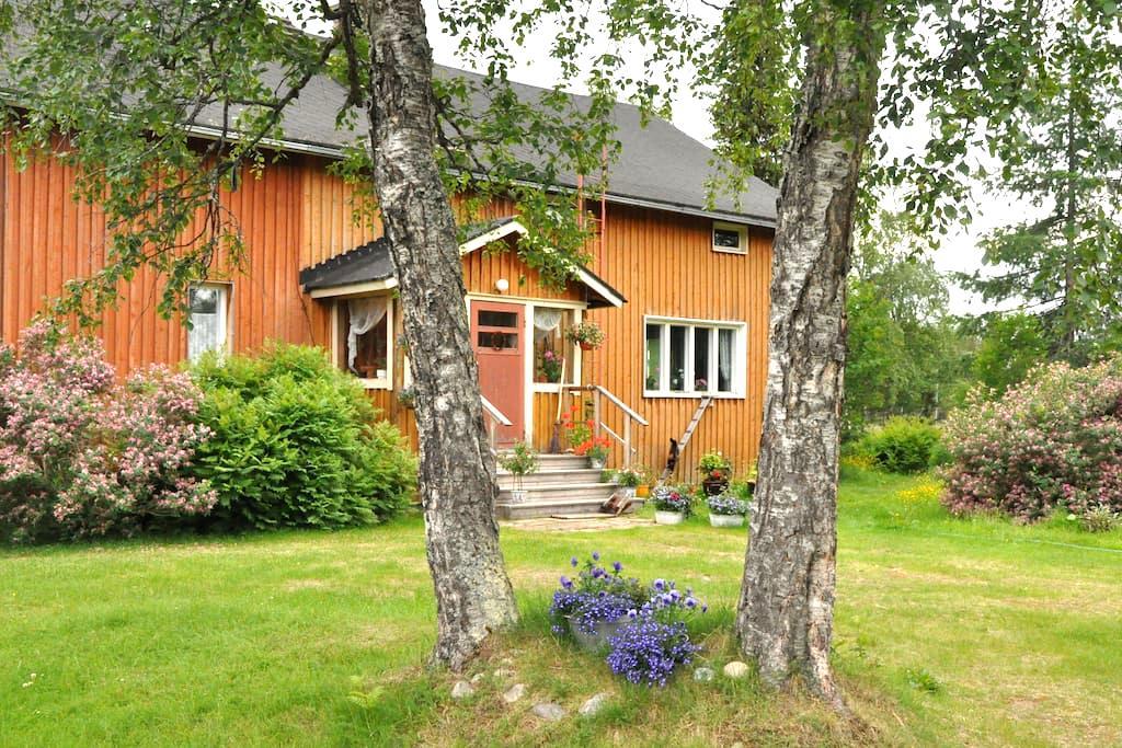 Beautiful farm by the lake - Inari - House