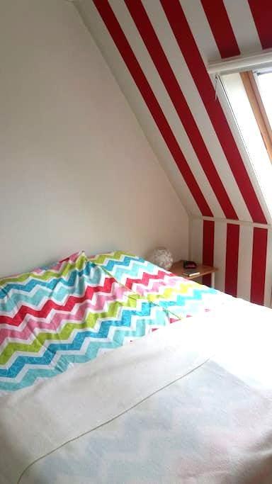 B en B op unieke plek in Sneek : 2 persoons kamer. - Sneek - Bed & Breakfast