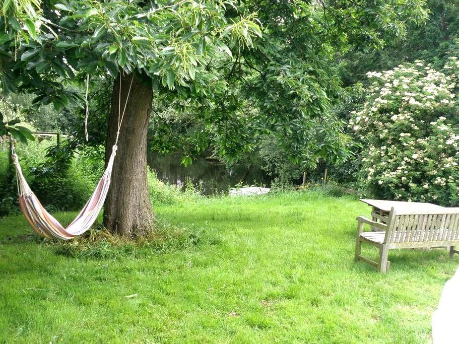 Wren's Nest - yurt, own pool & lawn - Myddle - Yurt