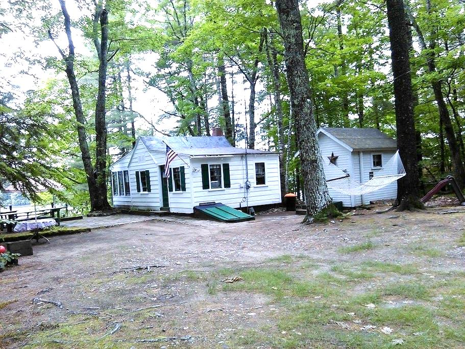 Cozy Lakeside Camp With Boats - Shapleigh - Cabin