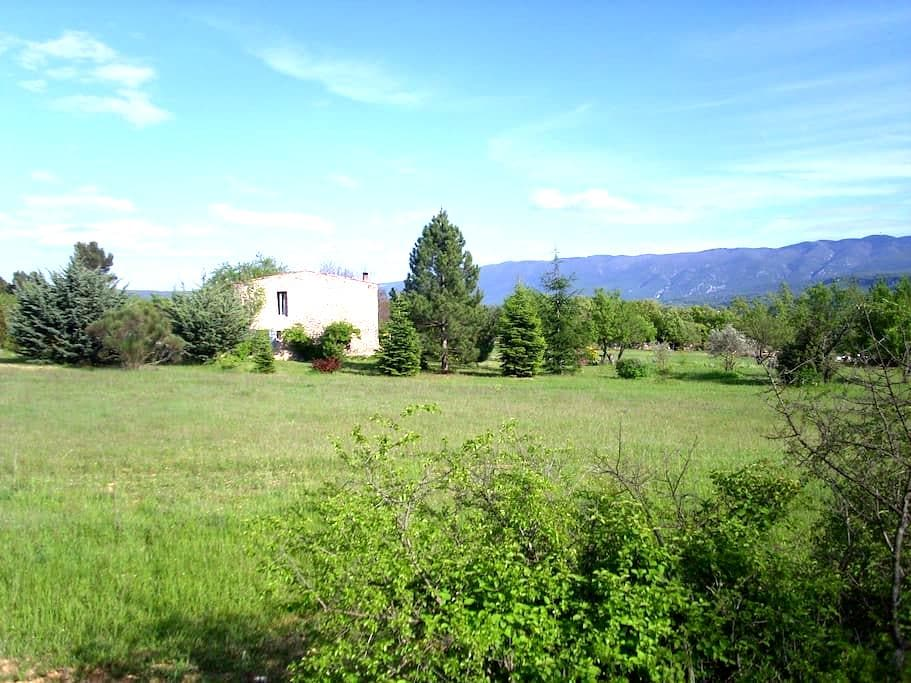 House countryside quiet animals - Apt - Talo