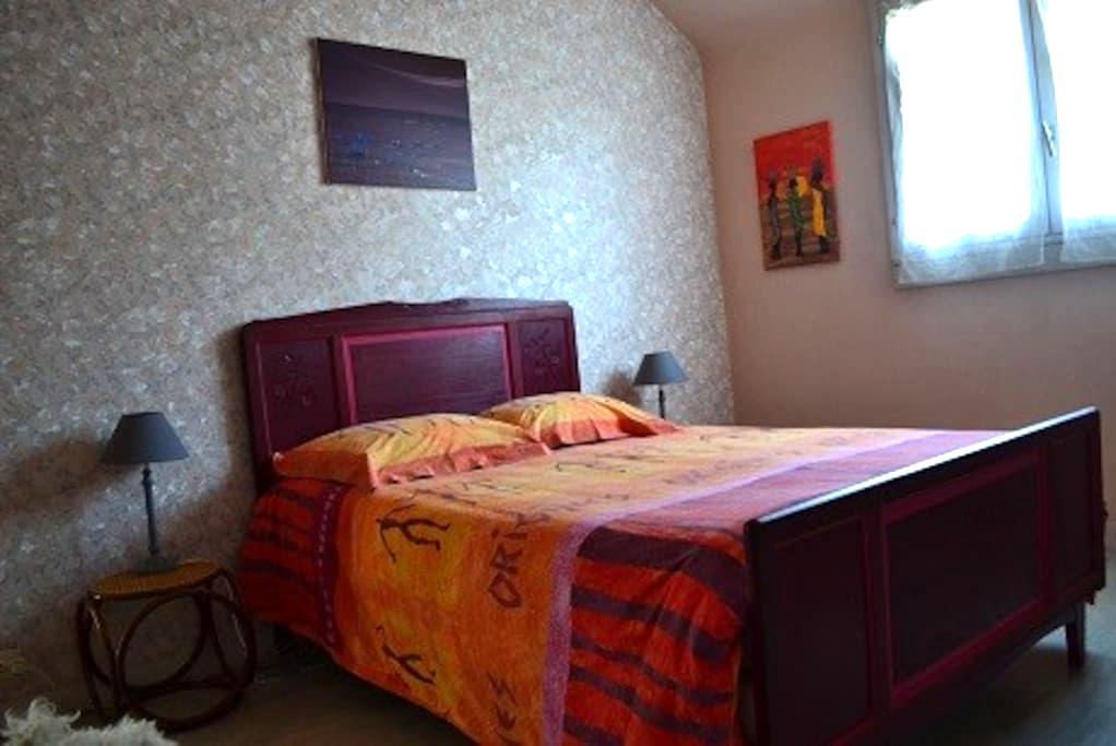Charmante maison meublée à louer pour vos vacances - Ploudaniel - Huis
