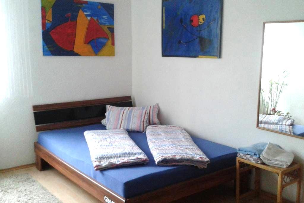 Schönes Zimmer in meiner Wohnung - Baienfurt - อพาร์ทเมนท์
