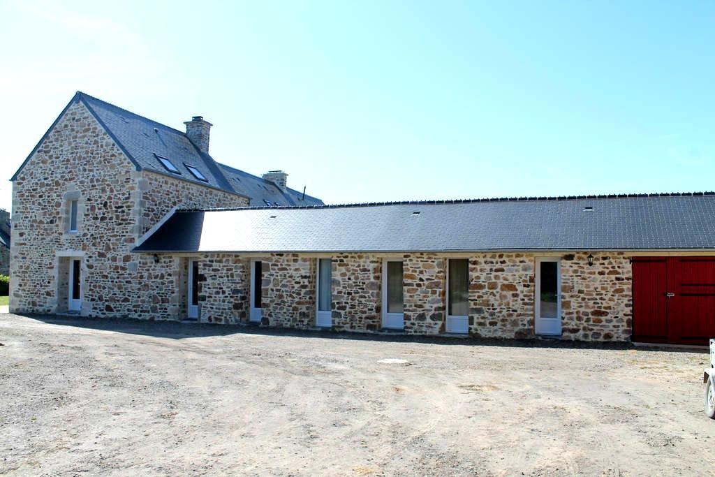 MAISON TRES AGREABLE ET CONFORTABLE AU CALME - Saint-Maurice-en-Cotentin - Hus