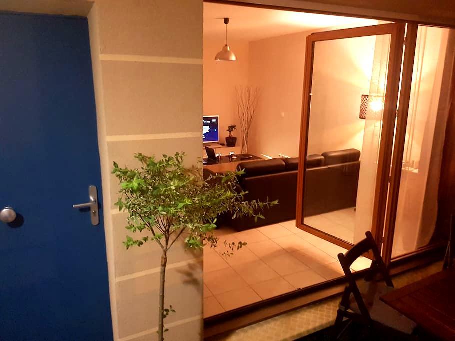 appartement calme,terrasse vue sur espace vert - Longvic