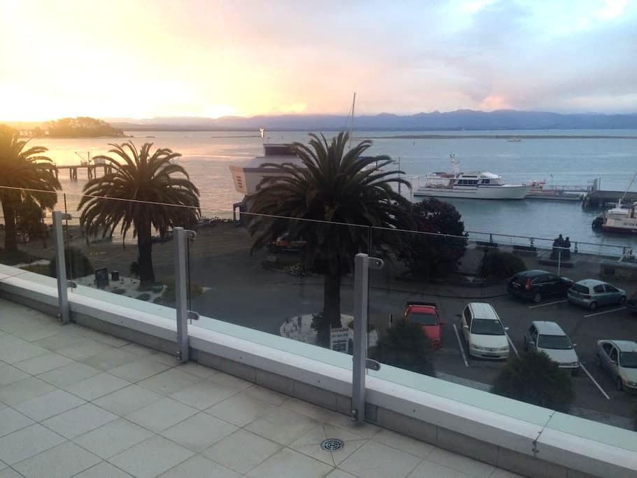 Luxury Waterfront Apartment, Port Nelson - Nelson - Apartment