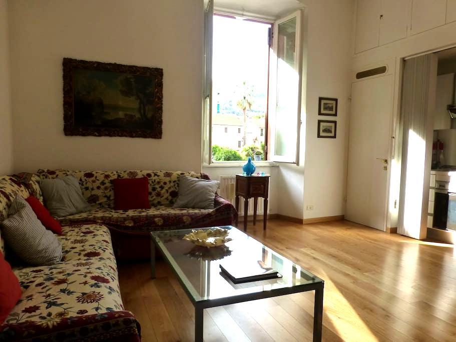 Big, bright apt,  200 mt to the sea - Santa Margherita Ligure - Apartment