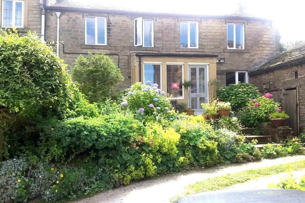 17thC cottage & Tub - Holmfirth - Rumah