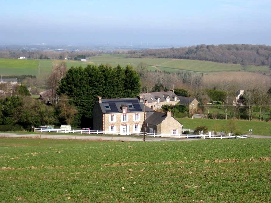 Le Bois Chef D'Ane B&B, Brittany FR - Le Gouray - Penzion (B&B)