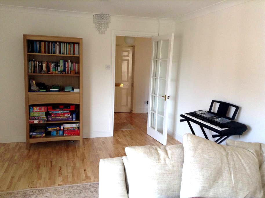 Pretty two-bedroom flat near Newcastle airport - Ponteland - Wohnung