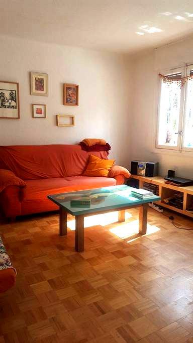 Habitación individual en Madrid - Madri - Apartamento