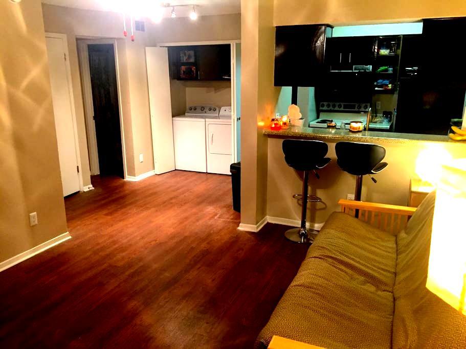 Cozy Living Room in 1B/1B Apartment - ดัลลัส
