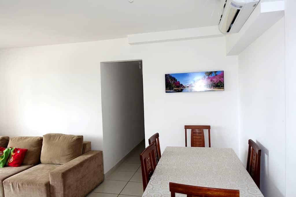 **Apartamento Novo Mobiliado-Condomínio de Luxo** - Cuiabá