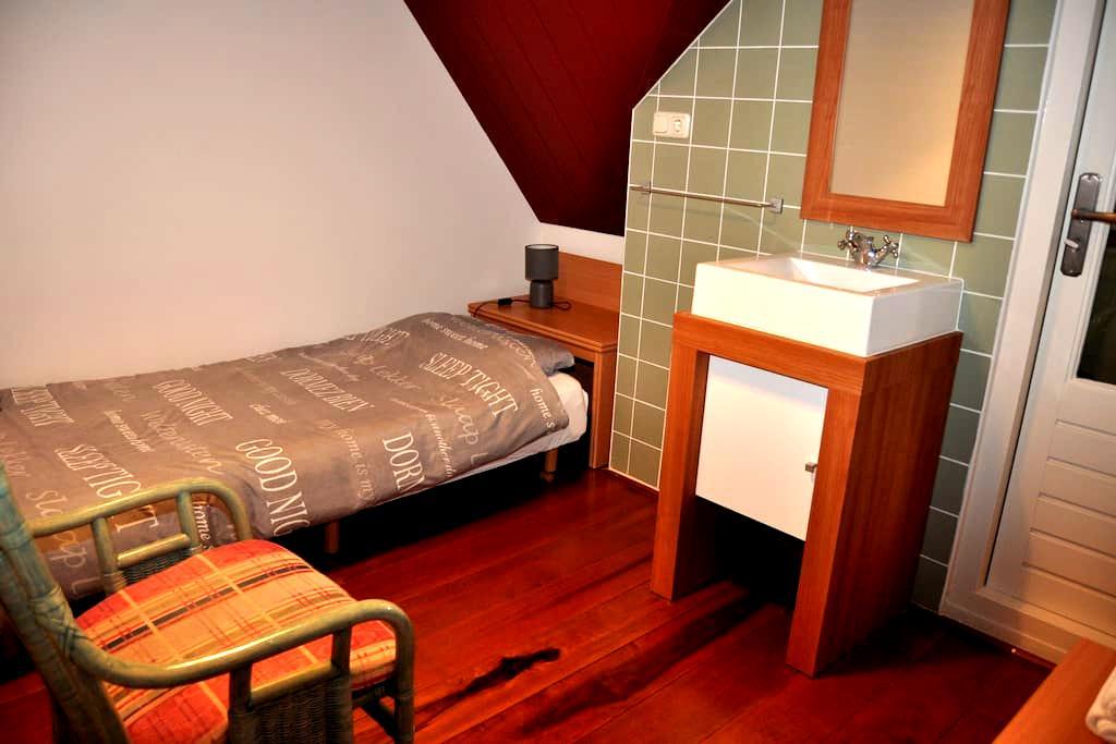 B&B LEEKS END - Balkon kamer (1p.) - Oosterleek - Bed & Breakfast