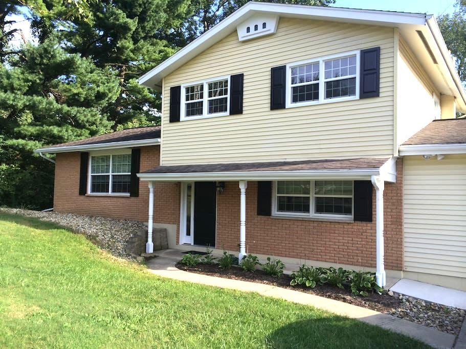 Renovated home close to Kenyon/MVNU - Mount Vernon - Talo