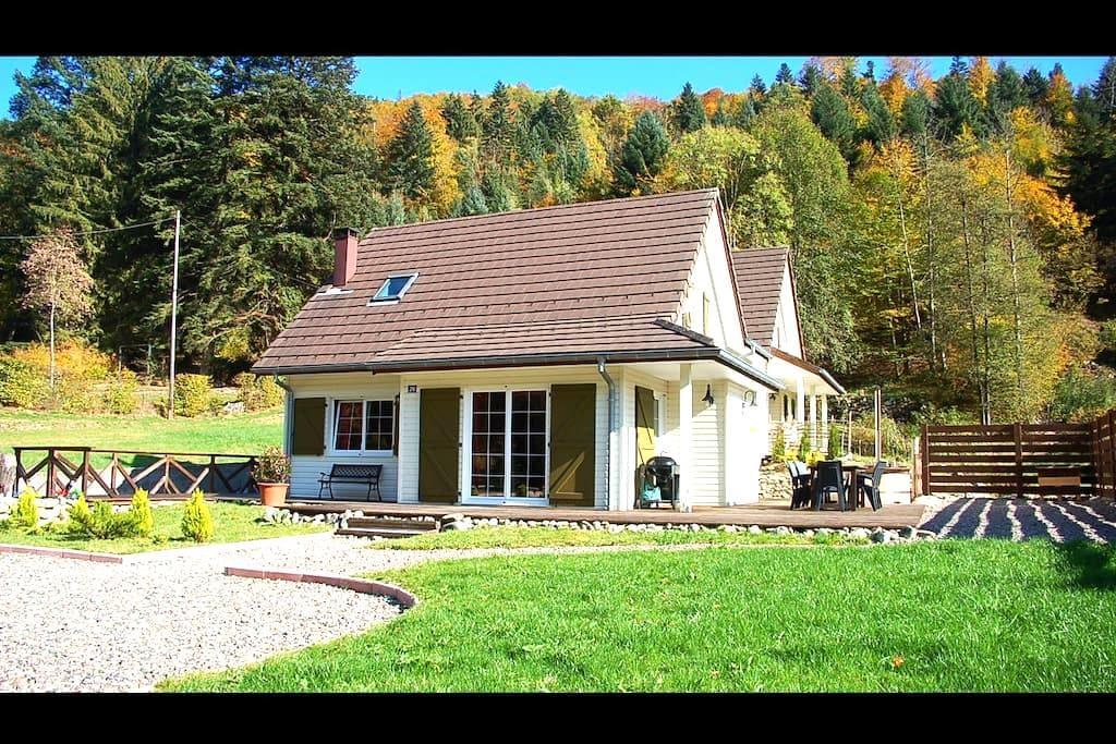 Chalet avec Sauna & Bain-nordique - Wildenstein